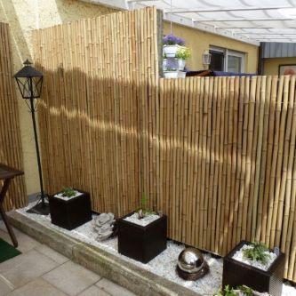 Bambusrollzaun. Ø 30/33mm