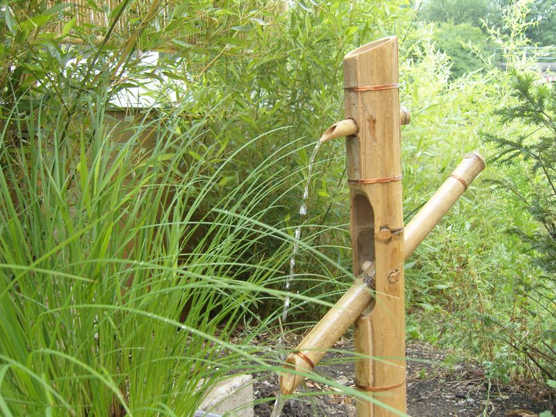 Bambus Augsburg - Wasserspiele und Wasserspeier